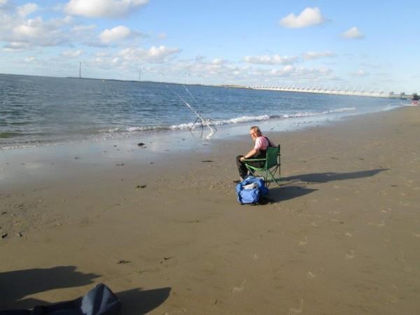 2 Limburgers, vissen aan Vlaardingen/Banjaard