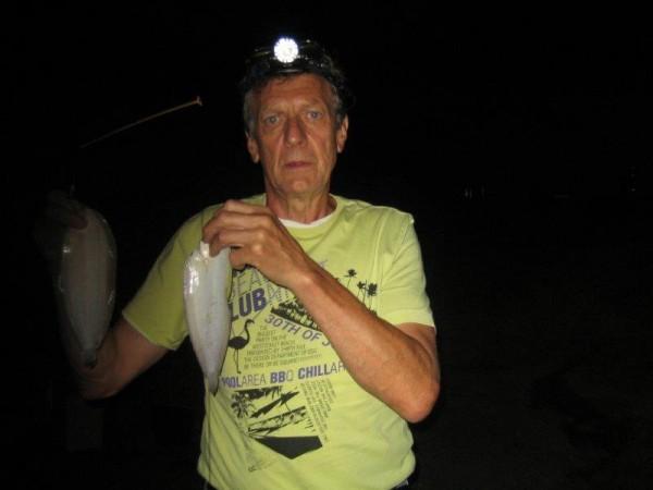 Hugo, nachtvisserij Waterweg