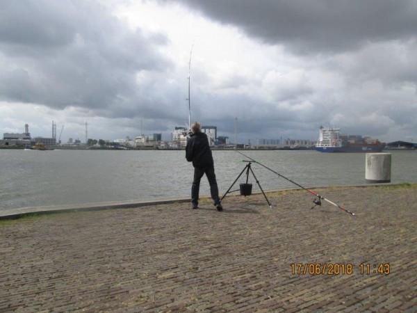 2 Limburgers, vangen tong aan de Waterweg