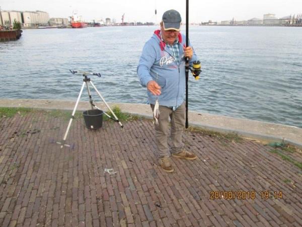 Henk en Theo vissen weer, Vlaardingen