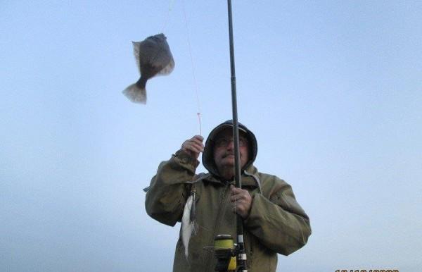 Henk en Theo, vissen aan de Waterweg