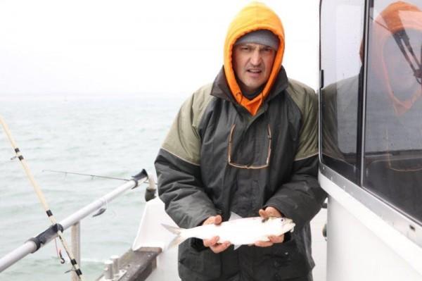Ankervissen met Northseacharters, door Pierre