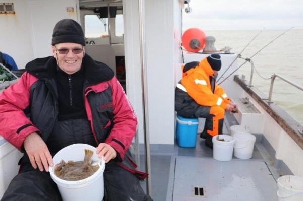 Pierre, ankervissen met Northseacharters