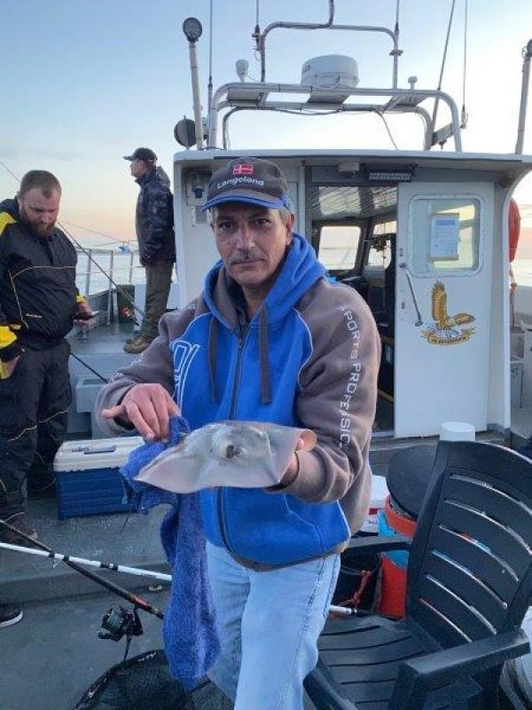 Rob Torsk, avondvisserij, met de Zeearend3