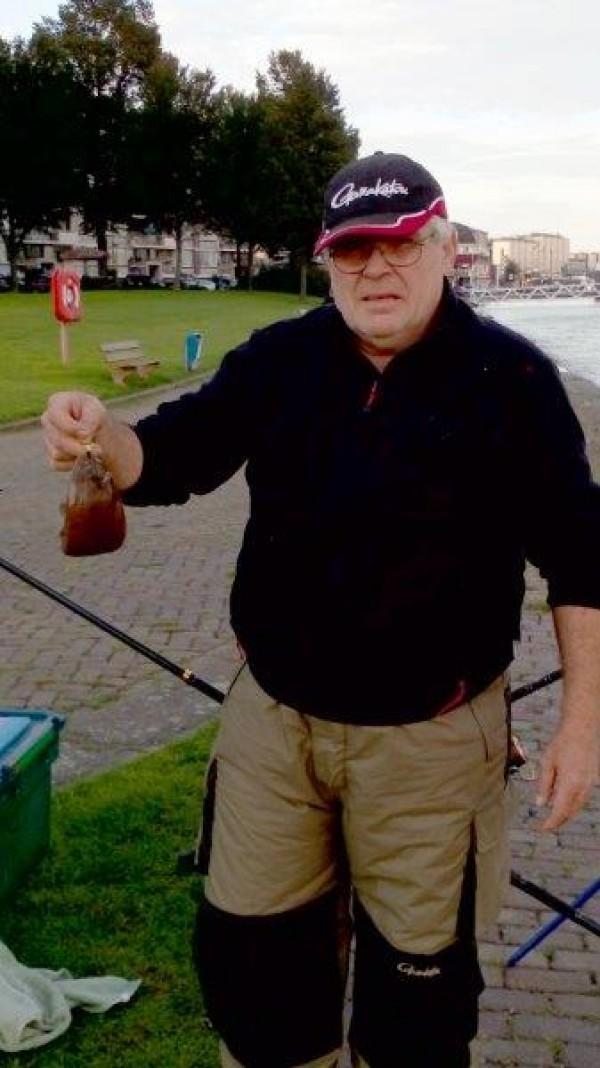 Patrick en vrienden, vissen aan de Waterweg
