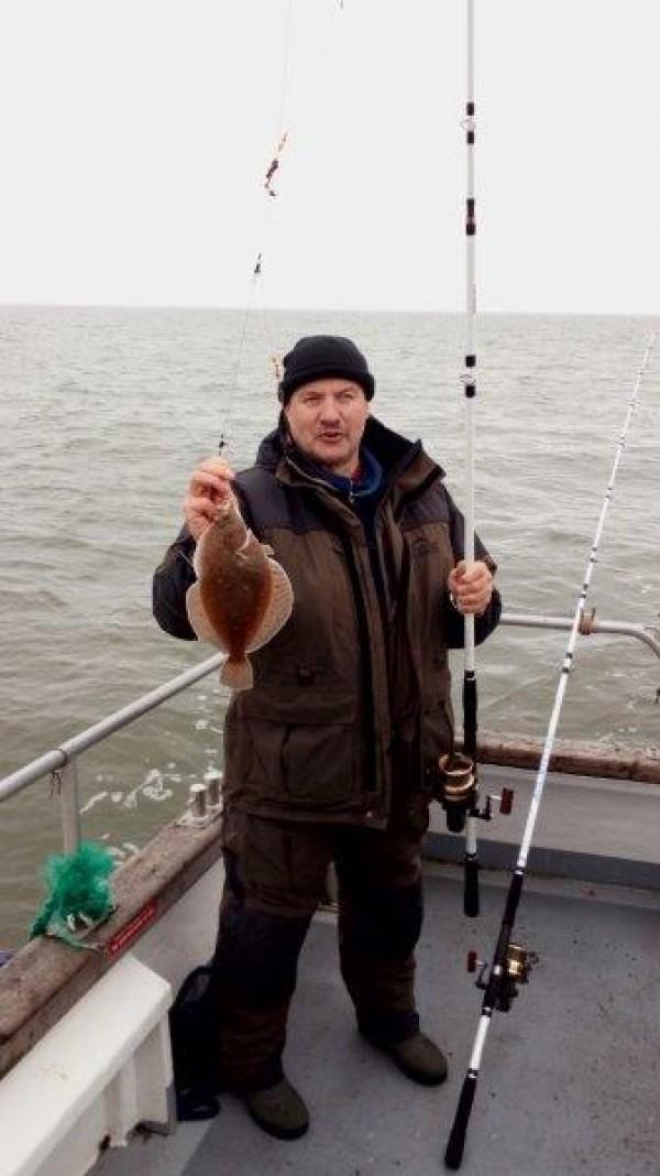 Ankervissen met Northseacharters in de Voordelta