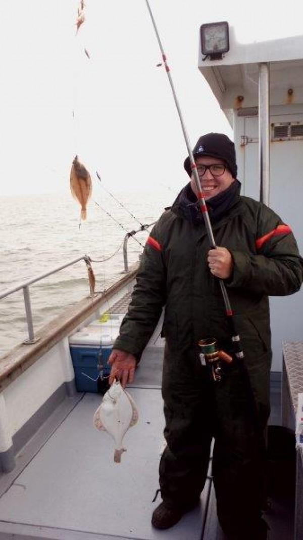Wrakvissen, werd ankervissen, met www.northseacharters.eu