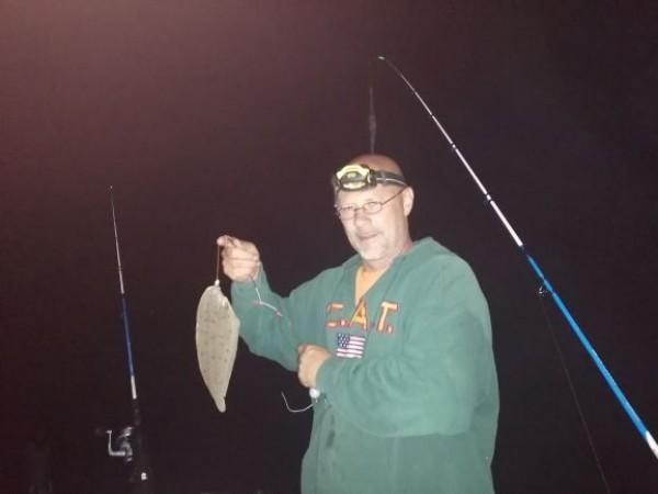 Ron en Gino, tong vissen Voordelta
