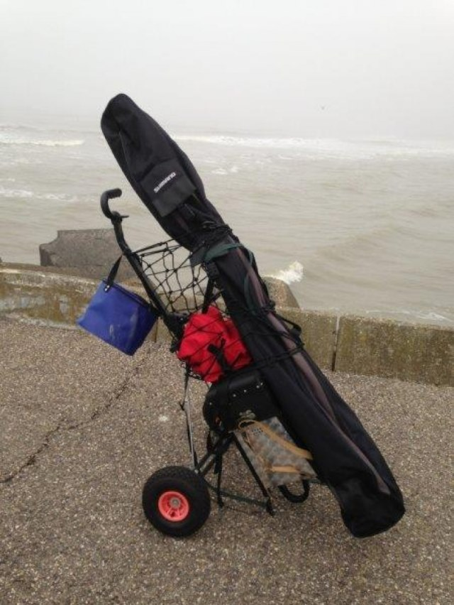 Marco, vissen aan de Noordpier
