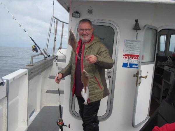 Alain, vissen met Wiesje