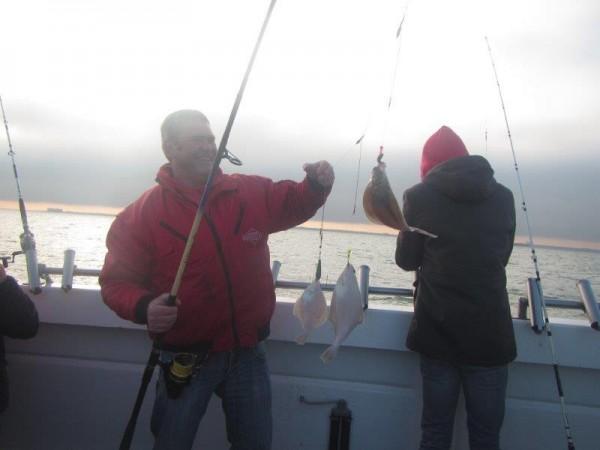 Gezelschap Tulleneers, vissen op de Westerschelde, Wiesje