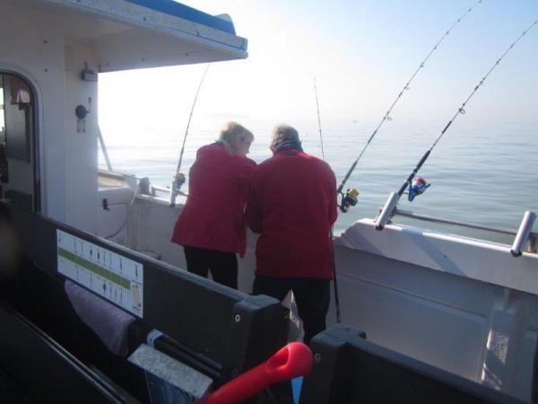 Clan Tulleneers, vissen met Wiesje