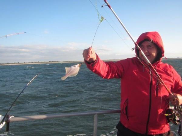 Fam. Tulleneers, tongvissen met Northseacharters