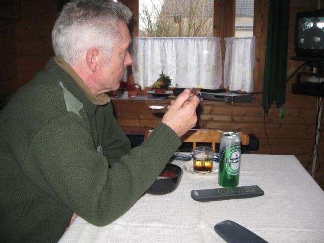 Jagen met Johan in Raben(Oost-Duitsland)