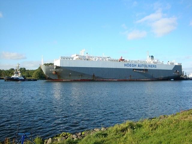 Noordzeekanaal met Willem(gaatvissen)