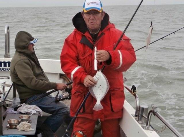 De Dinsdagploeg, vissen vanuit Neeltje Jans