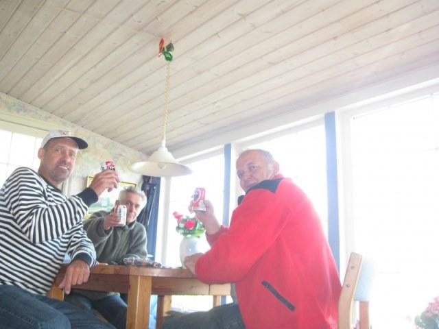 Denemarken, samen met Johan en Jan