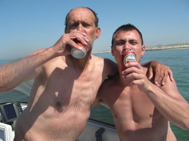 Vissen met Romy en Kevin