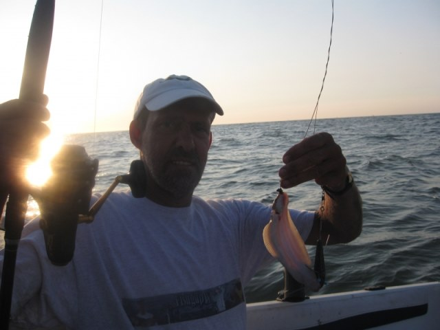 Vissen met Richard de Leede