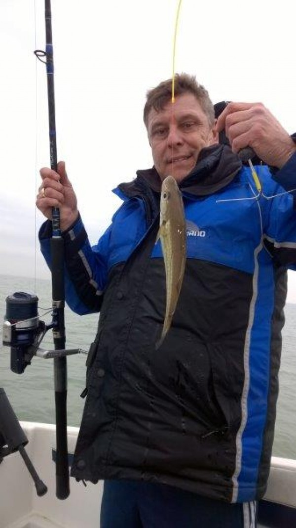 Na defecte geering, meer dan genoeg vis voorbij de keering