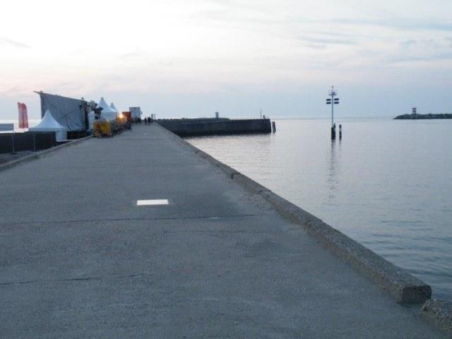 Simon aan de pier in Scheveningen