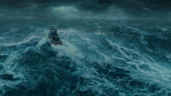Ook zo kan bootvissen op de Noordzee zijn!(Kees Michielsen)