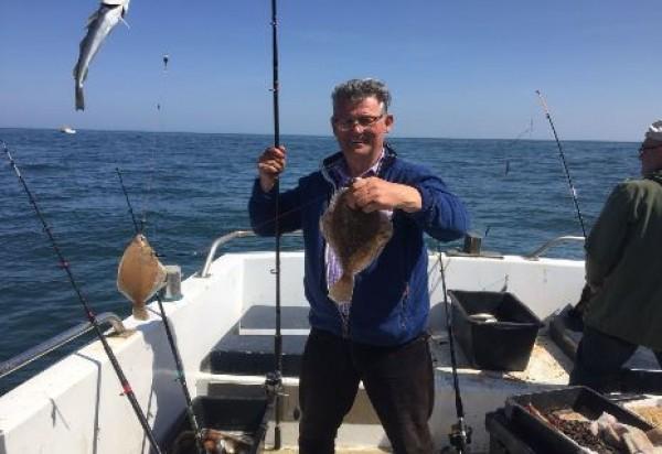 Bootvissen vanuit Nieuwpoort