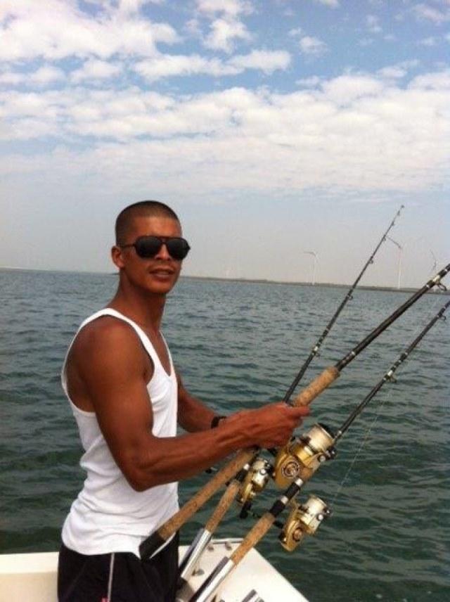 zeeduvel met Niels en Wesley op de haaien
