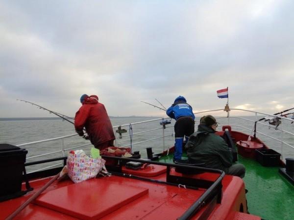 Huib, bootvissen voor Ellewoutsdijk