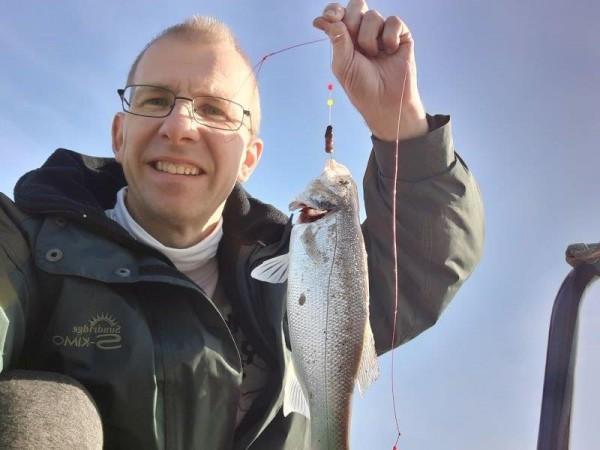 Stefan, vissen Maasvlakte 2