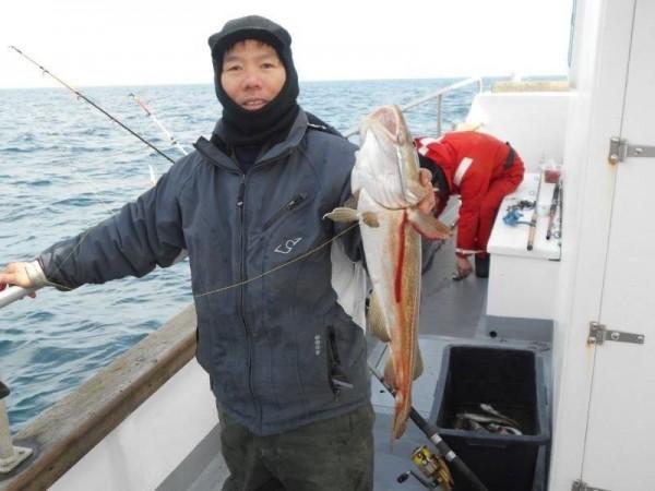 Vissen op de wrakken, met de Marie Louise