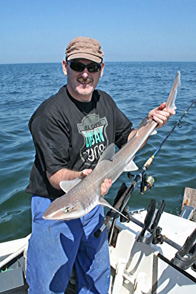 Ben en Koen op de Haaien