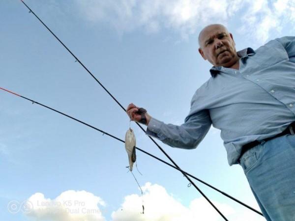 ies, vissen op naar Tong