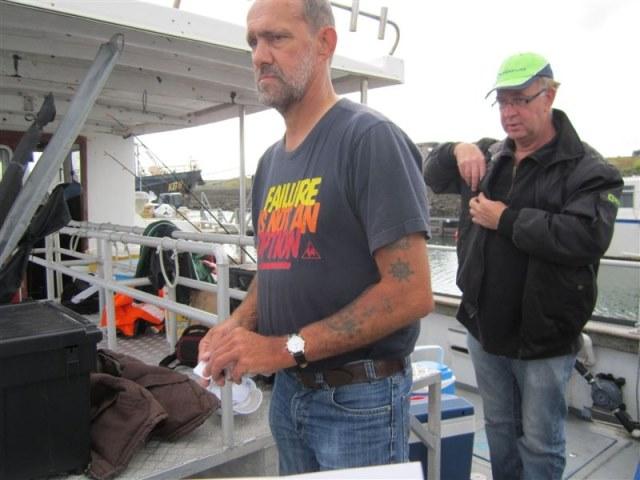 Tongvissen met Northseacharters, door Maup.