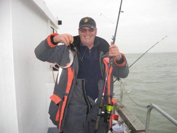Vissen Met North Sea Charters met  de Marie Louise.